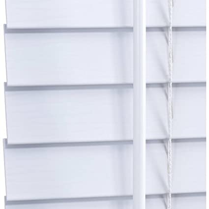 cordless faux wood blinds Amazon.com: Elegant Windows 2