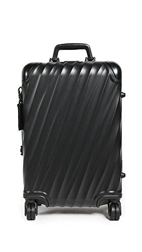 Tumi Men's 19 Degree Aluminum International Carry On, Matte Black, One Size