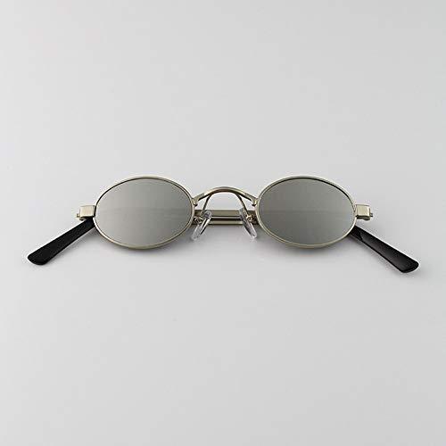 frame Plateado Blanco FKSW De Onda Gafas Sol white Sol Silver Sol Gafas Hombre Reflector Mujer Calle silver Ultra De Planas Plateado reflector Estrecha Gafas De De De rxxgwR1