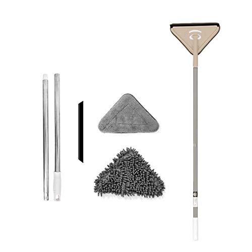 YEES Multifunctionele driehoekige mopp microvezel chenille-diepterreinigende mop 360 draaibare huishoudelijke…