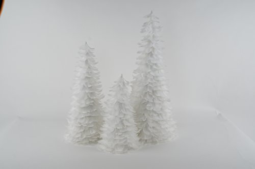 ZUCKER  Goose Coquille Feather Christmas Tree 12