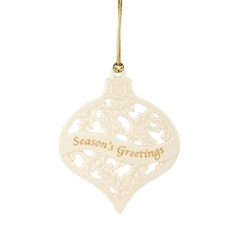 Amazon lenox christmas china ornaments seasons greetings lenox christmas china ornaments seasons greetings m4hsunfo