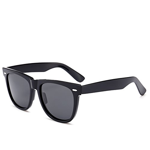 de noir Hommes 2140 soleil UV400 soleil Vintage P¨ºche sportive pour Lunettes Brillant Mirror Classic Lunettes Fygrend Femmes G15 Noir lunettes unisexe Gris conduite polaris¨¦es IUngx
