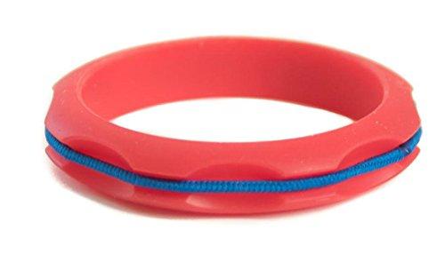 Maria Shireen Hair Tie Bangle Miniz Red