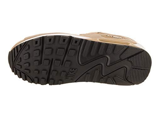 001 Fitness Wmns Air Scarpe Parachute Multicolore Max Beige Beige Black Lea da Parachute Nike 90 Donna 0ZqdT0