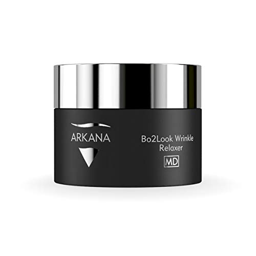 Bo2Look Wrinkle Relaxing Face Cream with Neuropeptides XEP-018, Hyaluronic Acid, a Botox Alternative 50ml (1.7fl oz) by Professional European Spa Brand