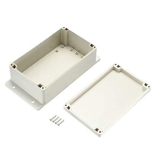 241x122x75mm Electronic Waterproof IP65 Sealed ABS Plastic DIY Junction Box Gray Box Box