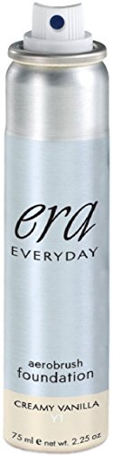 ERA Beauty Everyday Foundation Makeup, Y1 Vanilla, 2.25 ()