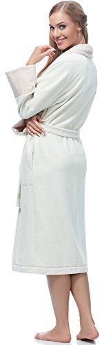 Merry Style Albornoz para Mujer MSLL1003 Ecru/Angora