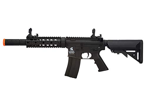 Lancer Tactical LT-15 Gen 2 M4 Polymer AEG Airsoft Rifle (Black with High FPS) by Lancer Tactical