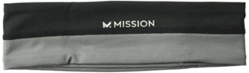 Mission Enduracool Classic Cooling Headband, High Vis Coral