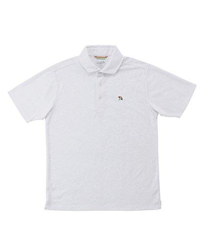 アーノルドパーマー メンズ ゴルフ ポロシャツ 半袖 エンボスPT半袖ポロ AP220101H09 WH M