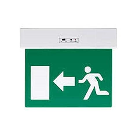 EXT Puerta elmark Cartel salida de emergencia iluminación ...