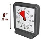 TIMER TIMER 8 INCH NEW MODEL WITH AUDIBLE OPTION