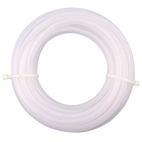 DERPIPE Silicone Tubing - 6mm ID 8mm OD Food Grade Flexible Thick for Homebrewing Pump Transfer 5 Meters(16.4ft) Length