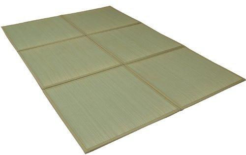 イケヒコ い草 置き畳 ユニット畳 防音 低反発 9枚組 『しずか』 約82×82×2.2cm 9P 9枚  B00EYGAO9S