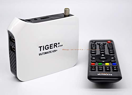 Tiger Ultimate K9 Plus 4K | Digital Receiver - Satellite & IPTV