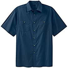 KingSize Men's Big & Tall Short Sleeve Solid Sport Shirt