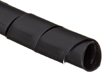 """Morris Products 22115 Spiral Wrap, Uv Black, 0.47 - 2.76"""" Bundle Range, 33ft Length"""