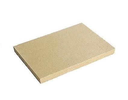 3/pezzi Vermiculite 2/cm schamott ricambio alla Pietra refrattaria