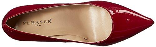 Chaussures Pat Avant Raspberry Couvert Pleaser Du Talons Pieds Femmes 20 Classique À qXwPPFxpEg