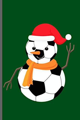 Snowman Soccer Ball: World Cup Football Soccer notebooks gift (6