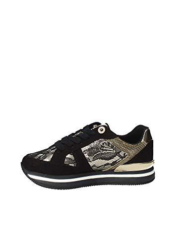 lac12 Sneaker Guess Macrosuola Scarpe Flda44 Con Donna Oro zPxxwC7q4