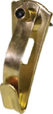 Hillman Elite Safety Hanger 30 Lb Brass Plated Card
