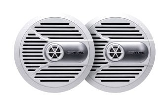 "Brand New Alpine Spr-m700 7"" 2 Way Pair of Marine Coaxial Sp"