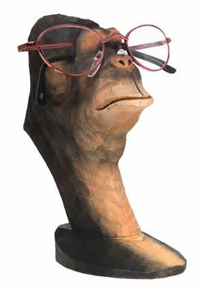 Amazon gorilla peeper wood eyeglass and business card holder gorilla peeper wood eyeglass and business card holder reheart Images
