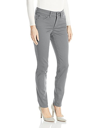 NYDJ Women's Alina Legging Fit Skinny Jeans in Colored Super Sculpt Denim, Chrome, 18 by NYDJ