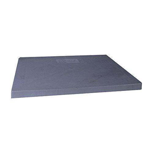 Diversitech EL3232-2 E-Lite Plastic Condensing Unit Pad, 32x32x2