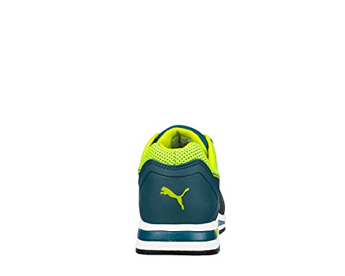 Elevate Puma Low Basket Sécurité Green Blau Src Knit Esd S1p De Hro prt4Ywxqnr