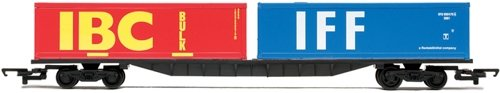 - Hornby R6425 00 Gauge Container Wagon 2 X 30 Railroad Rolling Stock