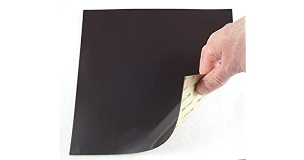 Amazon.com: Hoja magnética adhesiva azulejos soporta 120 ...