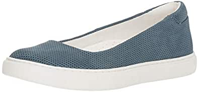 Kenneth Cole New York Women's Kassie 2 Perf Skimmer Slip On Ballet Flat Sneaker Indigo 5 M US