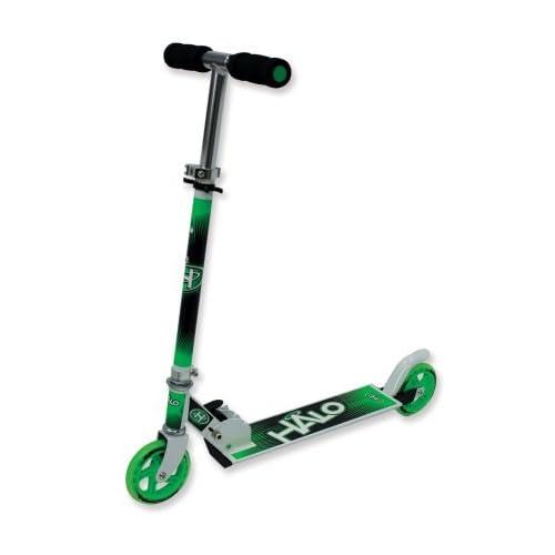 HALO 120mm Wheel Folding Inline Scooter - Green