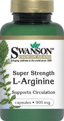 Strength Super L-Arginine 900 mg 90 Caps