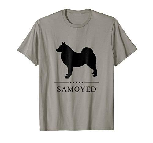 (Samoyed Shirt: Black Silhouette)