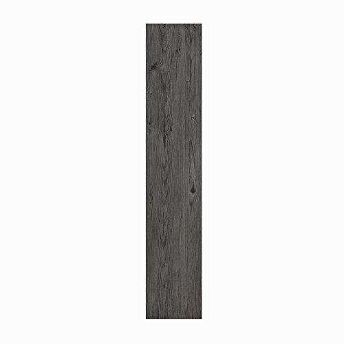 Achim Home Furnishings LSLYP10208 Flex Flor Looselay Vinyl Plank 9in x 48in 8 Planks/24 sq. ft. Flooring, - Flooring Smoke Vinyl