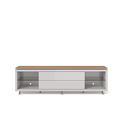 Maple Modern Tv Stand - 5