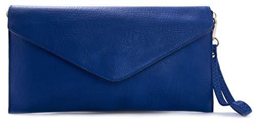 Big Handbag Shop Femmes Enveloppe en Forme de Mariage Parti Pochette Avec Longue Bandouli