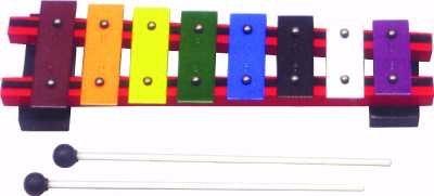 Basic Beat 8-Note Colorful Diatonic Glockenspiel by Basic Beat
