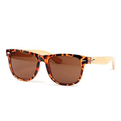 Hikote #6611 Man Women Summer Woodden Fashion - How Sunglasses Measure Do You Size