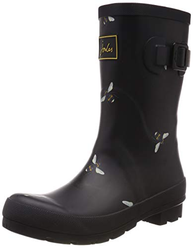 - Joules Women's Mid Molly Welly Black Bees 6 B US