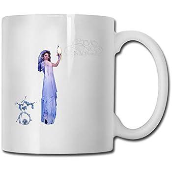 8e74083df04 HoriuchiNana Unisex Stevie Nicks Bella Donna Unique Music Band Fans Water Mug  Gift 330ml 11oz