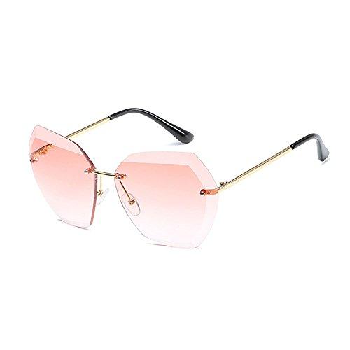 Ladies WLHW montura De Color de NO la para mujeres UV400 sol Oculos mujeres de 4 Sol NO Gafas 2 Summer marca Vintage diseñador Moda sin femeninas Sunglass BqEnXdxOR