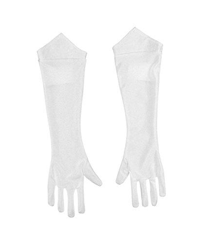Princess Peach Child Gloves Costume Accessory (Peach From Mario Costume)