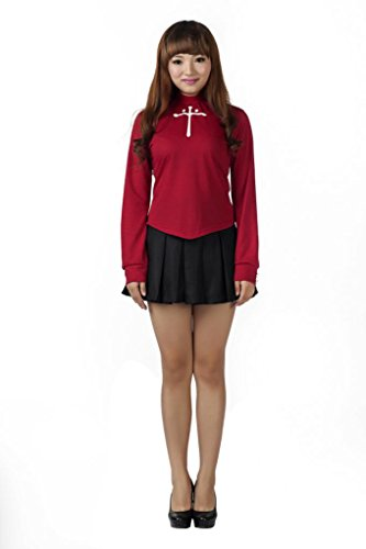 Mtxc Women's Fate/Stay Night Tohsaka Rin Cosplay Costume Size X-Large Red - Tohsaka Rin Costume