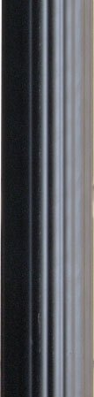 - Kichler 9595BK Accessory Outdoor Fluted Post, Black